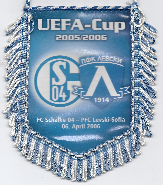 schalke 04 op weg naar halve finale uefa cup rob kruitbosch. Black Bedroom Furniture Sets. Home Design Ideas